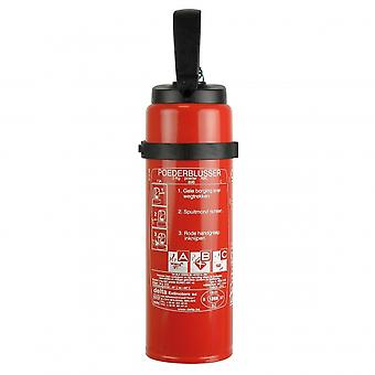 fire extinguisher ABC with holder 2 kg red 39 cm