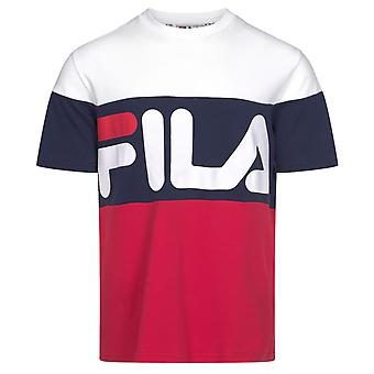 Fila Vialli Colour Block T-Shirt White 29