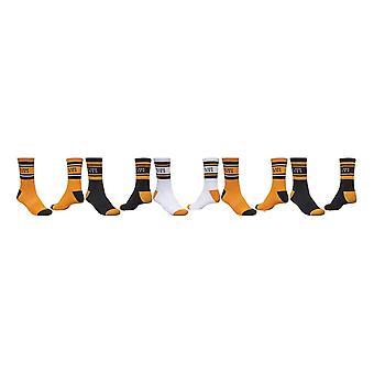 Globe Bengal Crew 5 Pack Socks - Gold