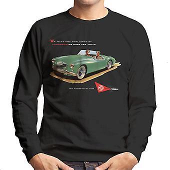 MG On Road And Track British Motor Heritage Men's Sweatshirt