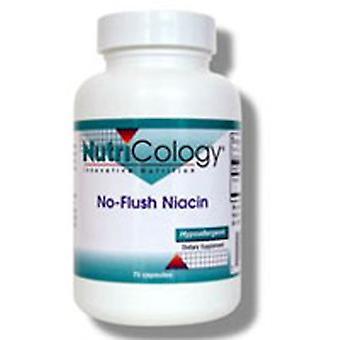 Nutricologie/ Allergie Onderzoeksgroep No-Flush Niacine, 75 Caps