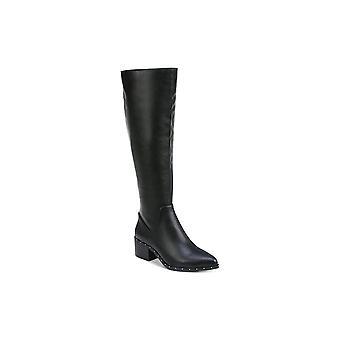 شريط الثالث النساء جبال وأشار إلى الركبة الركبة أحذية الأزياء العالية