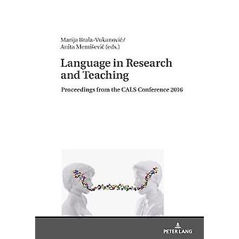 Language in Research and Teaching Proceedings from the CALS Conference 2016