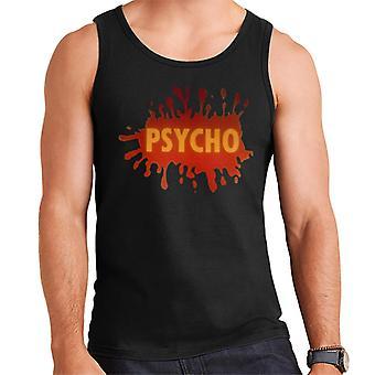 Psycho Splatter Logo Men's Vest