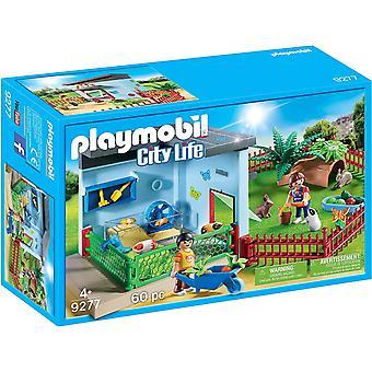Playmobil City Life Small Animal Boarding with Hamster Wheel