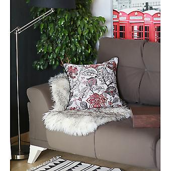Jacquard Colored Weaver Square Throw Pillow Cover