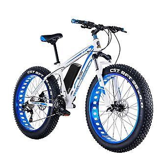 الدراجة الجبلية الكهربائية- الدهون الإطارات الكهربائية الثلج Ebike