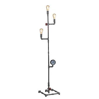 Fan Europe Amarcord - Efeito pipe Mutli Arm Floor Lamp, Zinco, E27