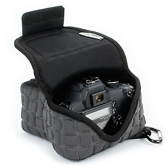Usa gear dslr camera bag for digital camera with neoprene protection, holster belt loop and accessor wom72681