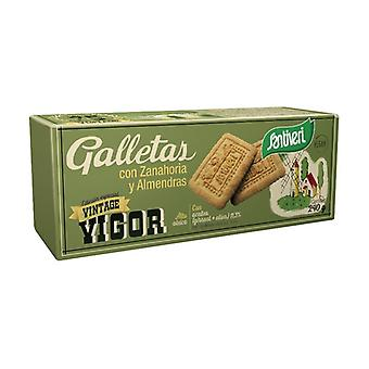 Vegan Carrot and Almond Cookies 240 g