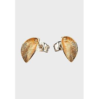 Kalevala Earrings Women's Snow Flower Bronze 3682144T