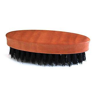 skjegg børste med pære tre håndtak og naturlig bust - menns grooming