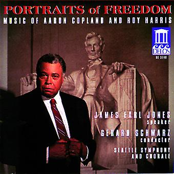 Copland/Harris - Portraits of Freedom: Music by Aaron Copland and Roy Harris [CD] USA import