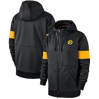 Pittsburgh Steelers Prestanda Full-Zip Hoodie Sportkläder 3YT005