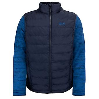 Jack Wolfskin Mens Aquila Glen Zip Up Knitted Jumper Gilet 1204401 1010