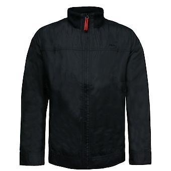 Fila Mens רוכסן את מעיל רוח אימון ז'קט העליון חיל הים U89172 400 R3J