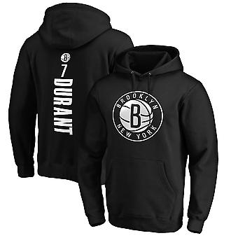 Brooklyn Nets No.7 Kevin Durant Pullover Hoodie Swearshirt Tops 3WY464
