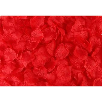 Simulation Rose Petals Artificial Flowers Decoration Wedding Marriage Room