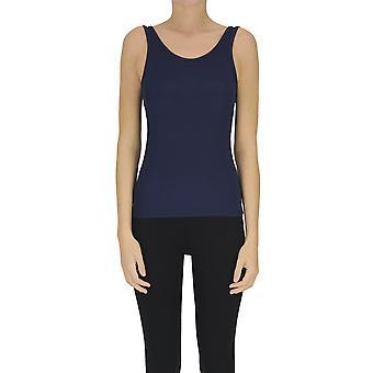 Samsoe O Samsoe Ezgl628003 Women's Blue Nylon Top