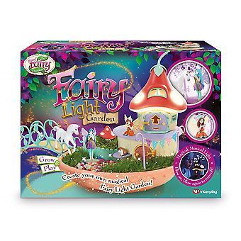My fairy garden - fairy light garden