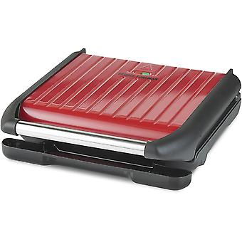 George Foreman Large Red Steel Grill 25050