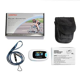 Fingertip Spo2, Pr Monitor Blood Oxygen Pulse Oximeter