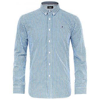 Kangol Creed Long Sleeve Check Shirt