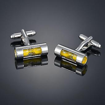 Fashion Men's Cufflinks, Coppper Horse, Steel Stamping Cuff Links