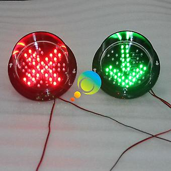 Dc12v/ Dc24v Red Cross And Green Arrow Led Traffic Lights