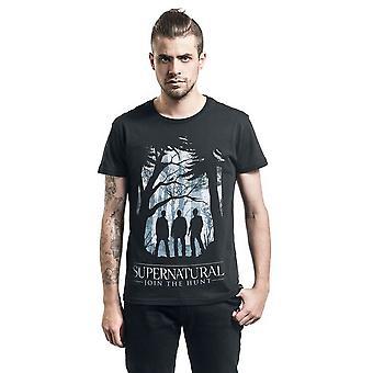 Övernaturlig Unisex Vuxen Silhuett T-Shirt