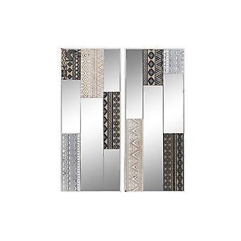 vegg dekorasjon dekodonia tre krystall (2 stk)