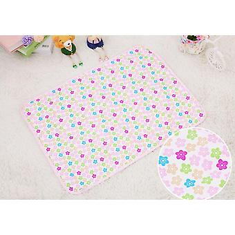 Vattentät blöja baby bomull madrass skötbord urinmatta bärbar baby