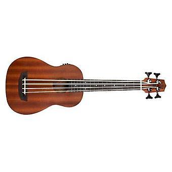 Kala u-bass satin/mahogany fretted w/bag