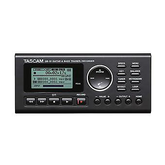 Tascam gb10 guitar/bass trainer with recorder ps90163