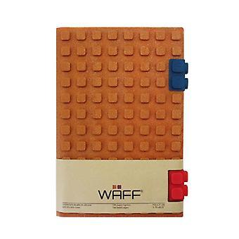 Waff Glitter Journal - Copper / Large