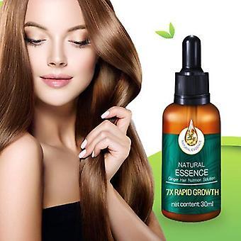 30ml- 7x Rapid Growth Hair, Anti-hair Loss Serum, Ginger Essential Oil