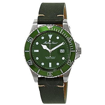 Mathey-Tissot Mathey Vintage Quartz Green Dial Men's Watch H9010ALV