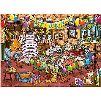 Wasgij Mystery 1000 pieces Jigsaw Puzzle Mystery 16 Birthday Surprise!