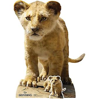 Gerui SC1396 Simba (Baby Cub) Live ive Action Official Cardboard Cutout Perfect for Lion King Parties,