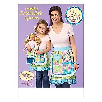 Kwik Sew Ellie Mae Made to Match Pattern K0183 K0665 Aprons All Sizes