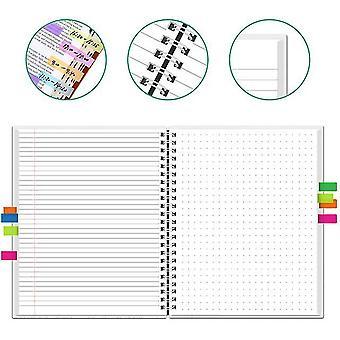 Newyes a4 smart raderbart bärbart papper återanvändbar trådbunden svart anteckningsbok app anslut mikrovågsugn radera med penna för barn studenter