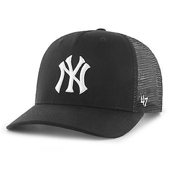 47 العلامة التجارية منخفضة الشخصية كاب -- مستوى نيويورك يانكيز الأسود