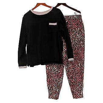 Cuddl Duds Set Fleecewear Jogger Pyjama Roze A381825