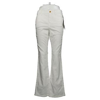 IMAN Global Chic Women's Jeans Reg Illusion Denim Bootcut White 734928100