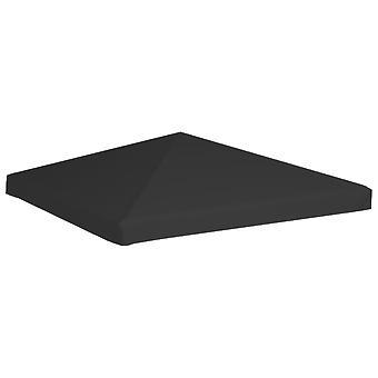 vidaXL pavilion roof 270 g/m2 3x3 m Black