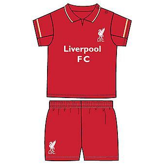 Liverpool FC officiella spädbarn fotbollströja och Shorts