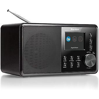 FengChun DAB 3000 Digitalradio (DAB+ / UKW-RDS, AUX-IN, Wecker mit Dual-Alarm) schwarz