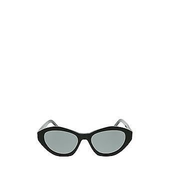 سان لوران SL M60 نظارات شمسية سوداء أنثى