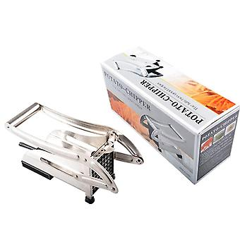 Husholdnings potet stripe skjæremaskin, manuell chips cutter, rustfritt stål