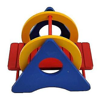 Hamster Rainbow Swing Træ Vippe Træ Zoom Ladder Lille Dyr Legetøj
